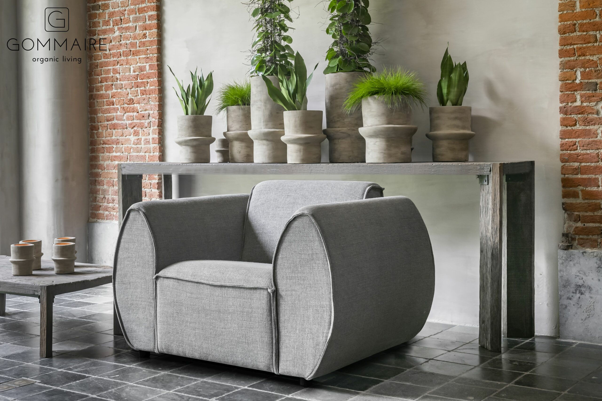 Gommaire indoor wood furniture- console archie